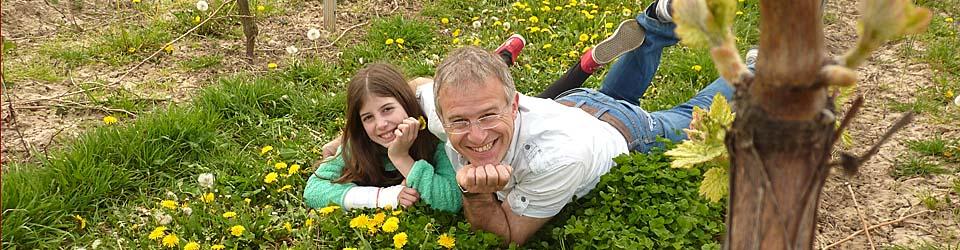 Jürgen Ziegler mit Tochter
